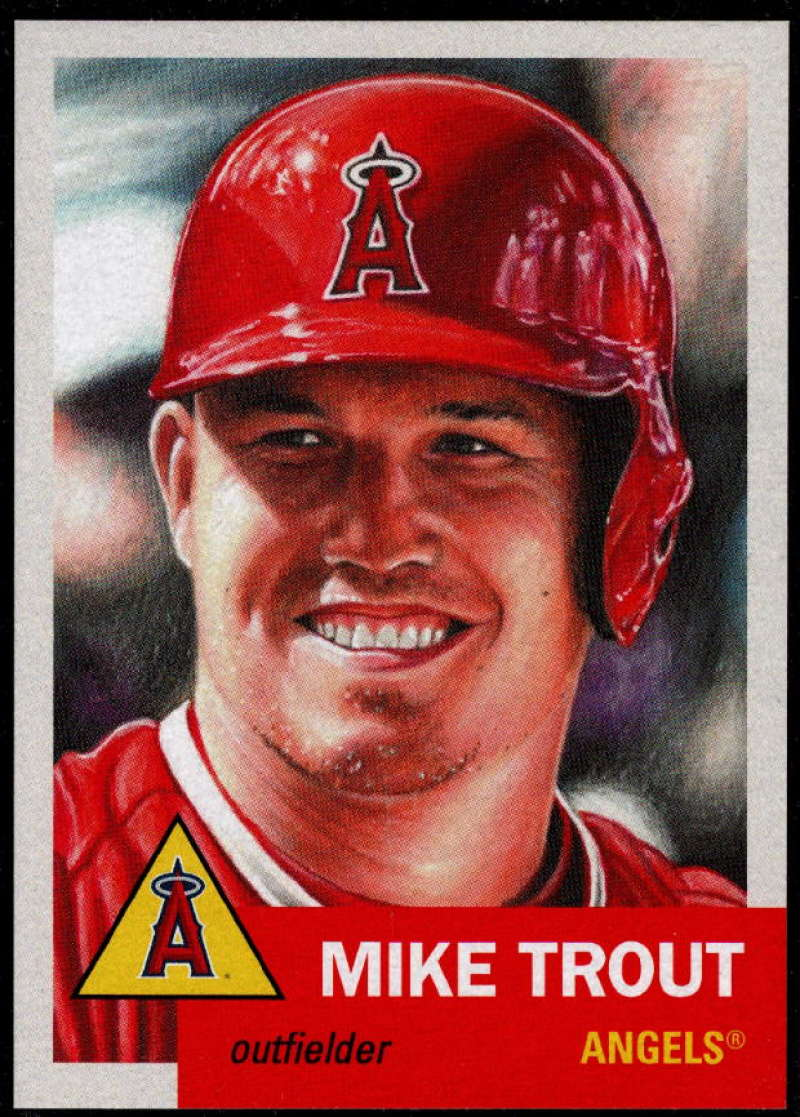2019 Topps MLB The Living Set #200 Mike Trout Los Angeles Angels