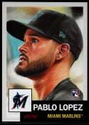 2019 Topps MLB The Living Set #236 Pablo Lopez RC Rookie Miami Marlins