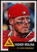 2019 Topps MLB The Living Set #250 Yadier Molina St. Louis Cardinals