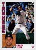 2019 Topps Series 1 Baseball Silver Wrapper Packs Chrome 1984 '84 Refractor #T84-19 Derek Jeter New York Yankees