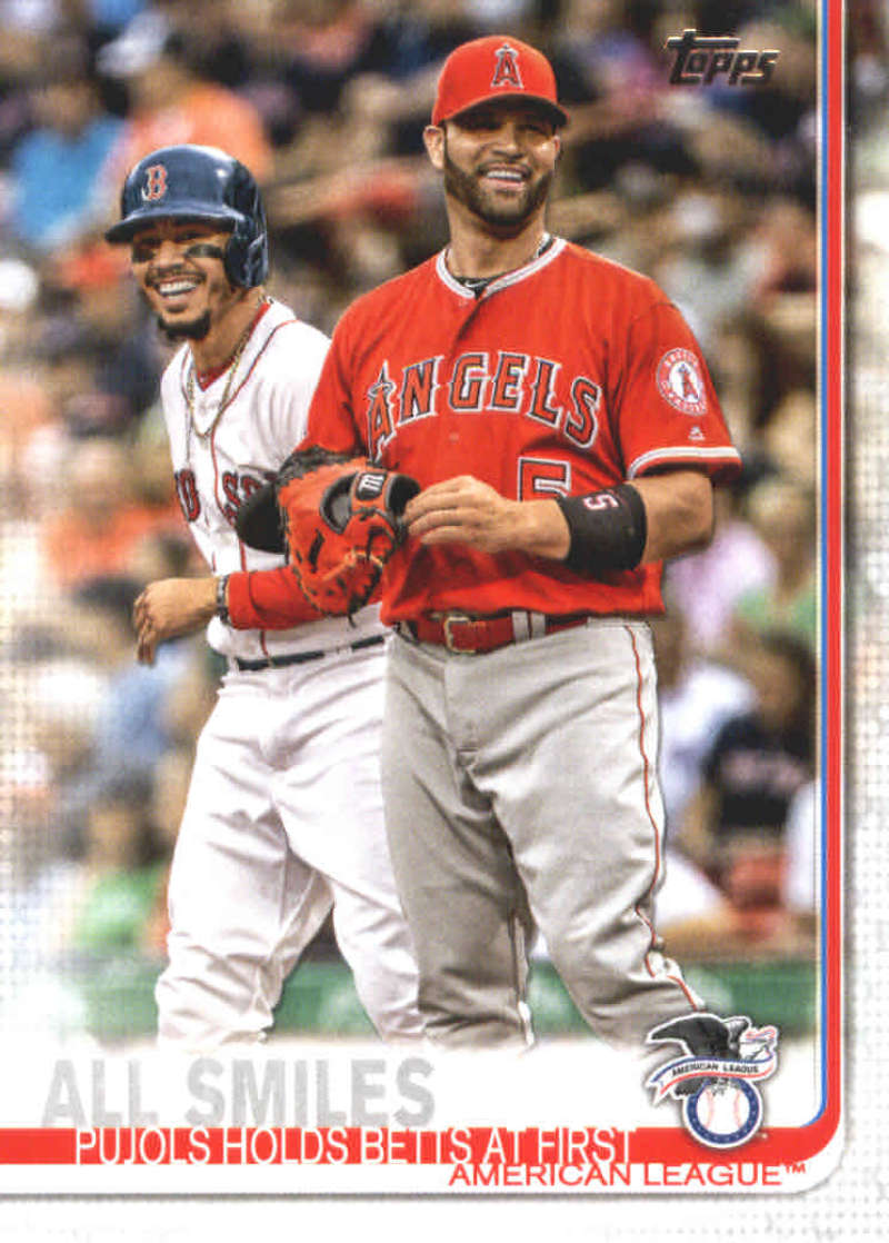 Ultimate Cards And Coins Item 382838 2019 Topps 295 All Smiles