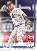 2019 Topps #7 Gleyber Torres NM-MT New York Yankees