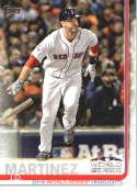 2019 Topps #76 J.D. Martinez NM-MT Boston Red Sox