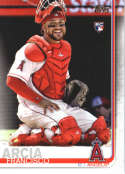 2019 Topps #78 Francisco Arcia NM-MT RC Rookie Los Angeles Angels