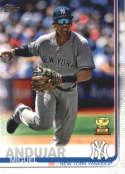 2019 Topps #132 Miguel Andujar NM-MT New York Yankees