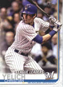 2019 Topps #239 Christian Yelich NM-MT Milwaukee Brewers