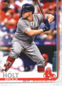 2019 Topps #546 Brock Holt NM-MT Boston Red Sox