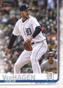2019 Topps #586 Drew VerHagen NM-MT Detroit Tigers