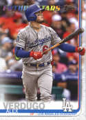 2019 Topps #671 Alex Verdugo NM-MT Los Angeles Dodgers