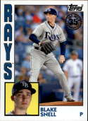 2019 Topps 1984 35th Annversary #T84-40 Blake Snell Tampa Bay Rays  Official MLB Baseball Trading Card