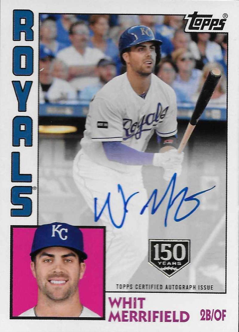 2019 Topps  1984 Topps Autographs 150th Anniversary