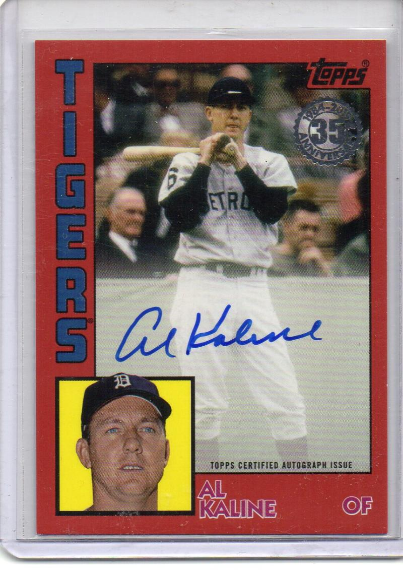 2019 Topps  1984 Topps Autographs Red