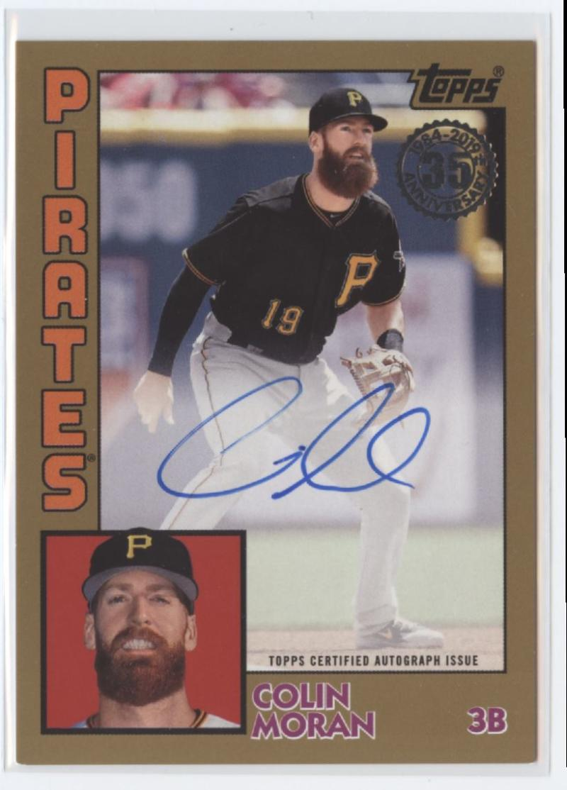 2019 Topps  1984 Topps Autographs Gold