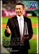 2019 Topps Series 1 150 Years of Professional Baseball #150-114 Ichiro Seattle Mariners  Official MLB Trading Card