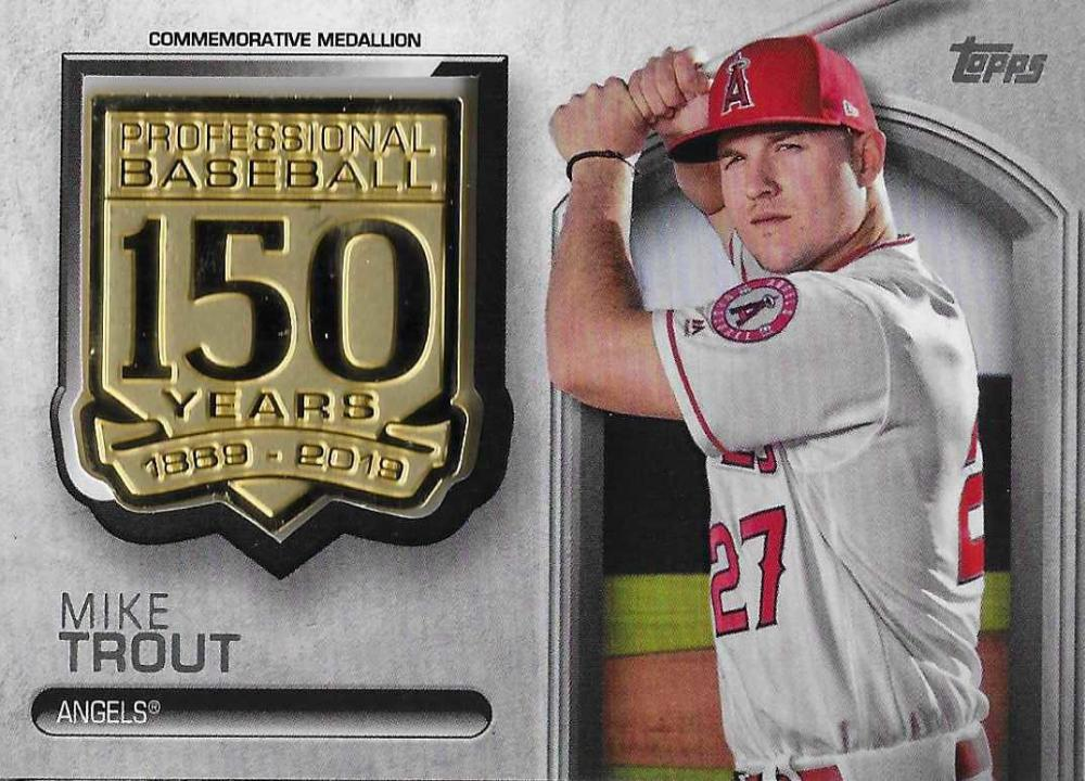 2019 Topps  150th Anniversary Commemorative Medallions