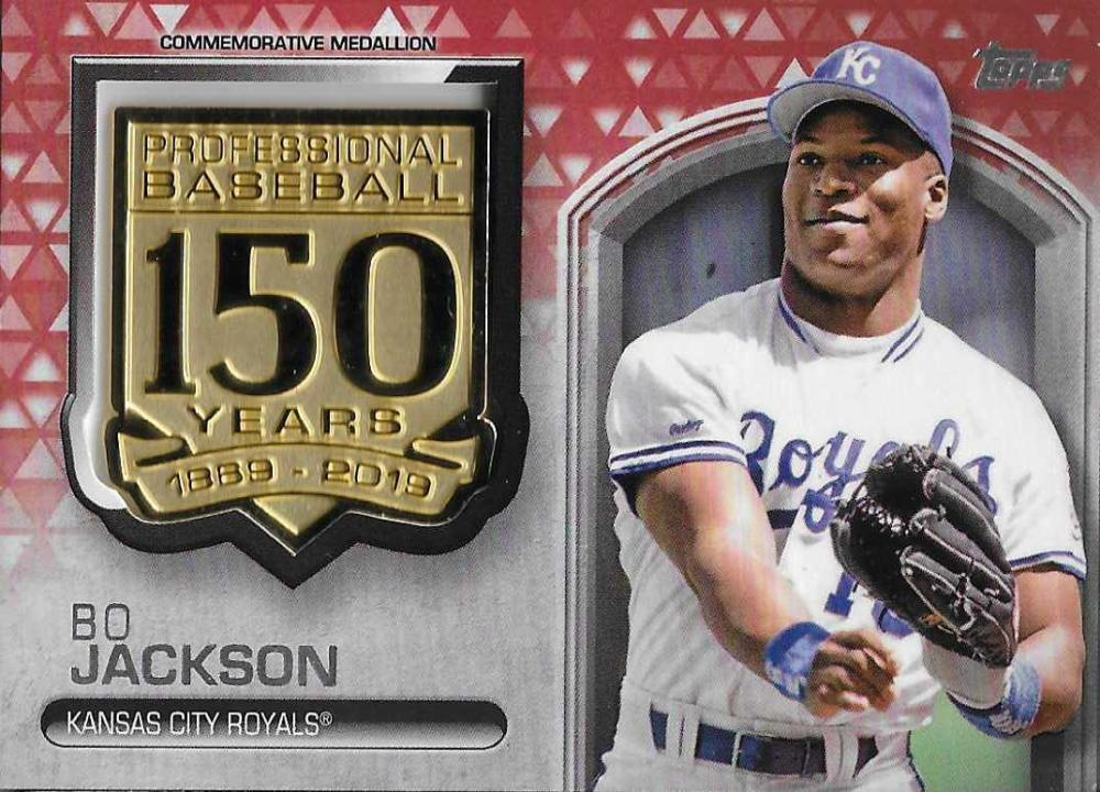 2019 Topps  150th Anniversary Commemorative Medallions Red