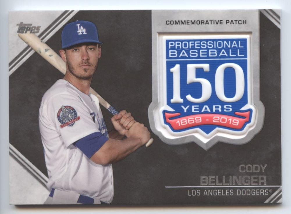 2019 Topps  150th Anniversary Commemorative Patches