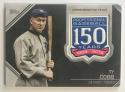 2019 Topps 150th Anniversary Commemorative Patch #AMP-TC Ty Cobb Detroit Tigers