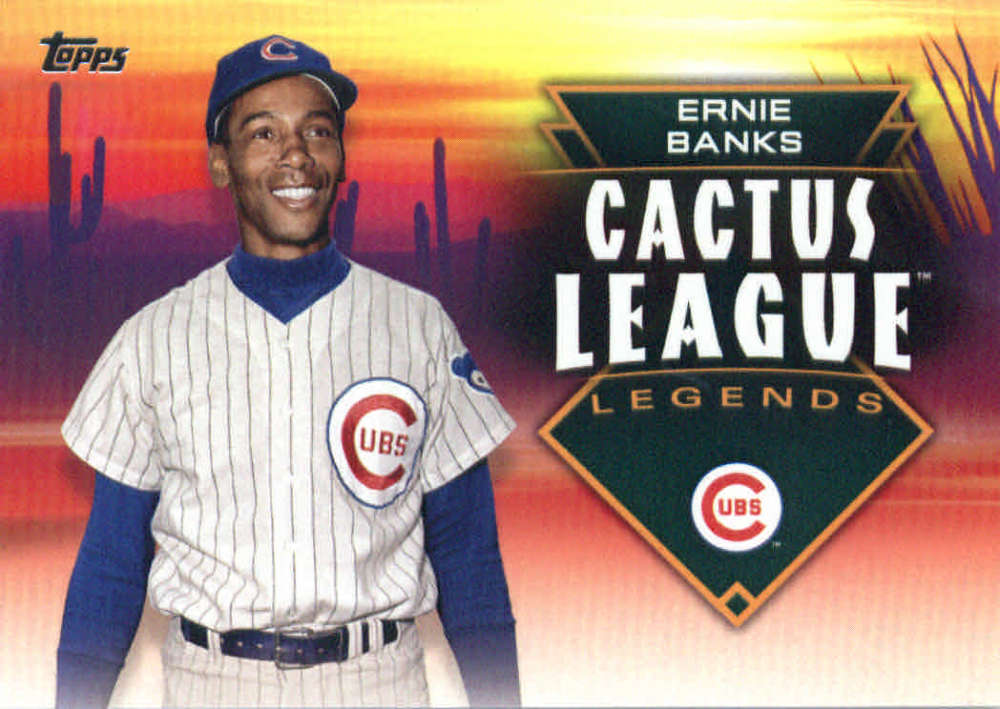 2019 Topps Cactus League Legends Baseball Checklist