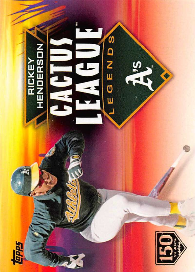2019 Topps  Cactus League Legends 150th Anniversary