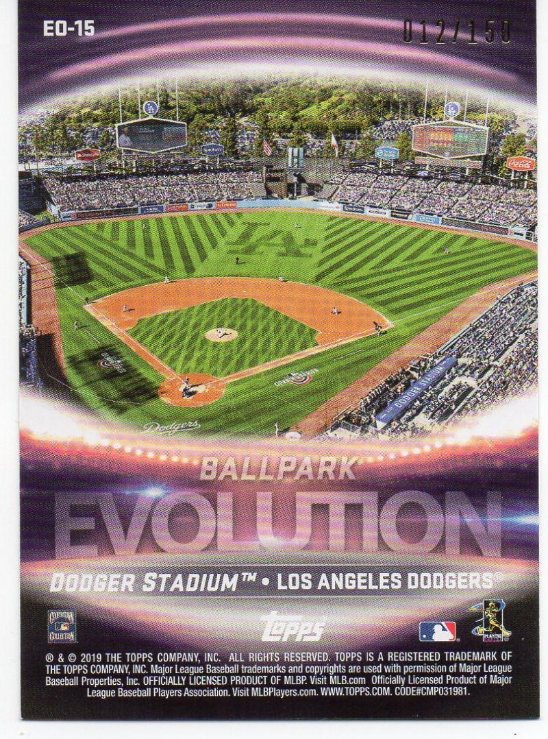 2019 Topps  Evolution of 150th Anniversary