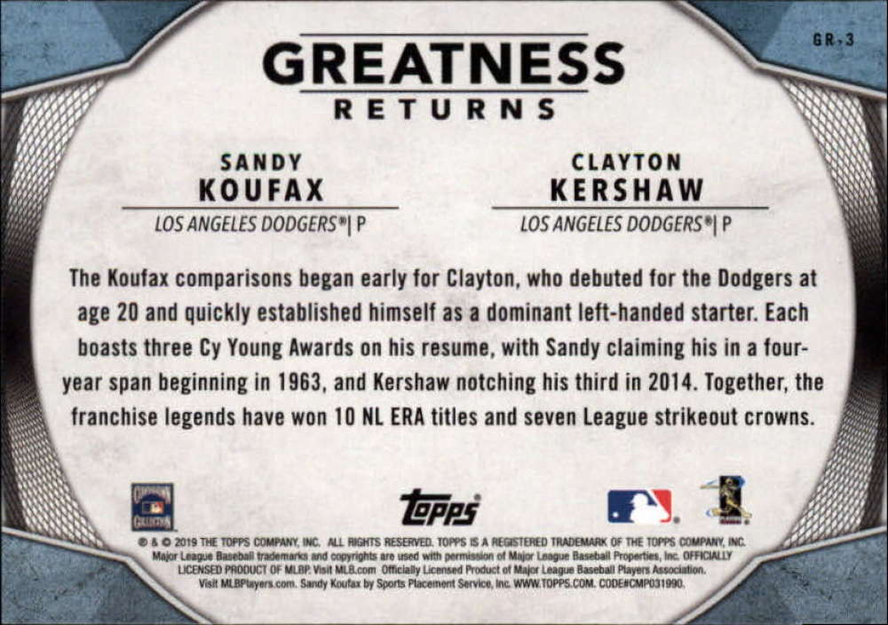 2019-Topps-Greatness-Returns-Insert-Cards-All-Sets-Included-Pick-From-List thumbnail 5