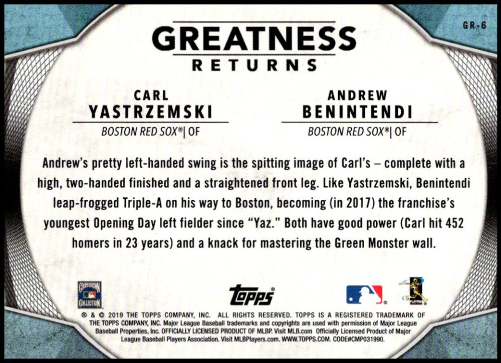 2019-Topps-Greatness-Returns-Insert-Cards-All-Sets-Included-Pick-From-List thumbnail 7