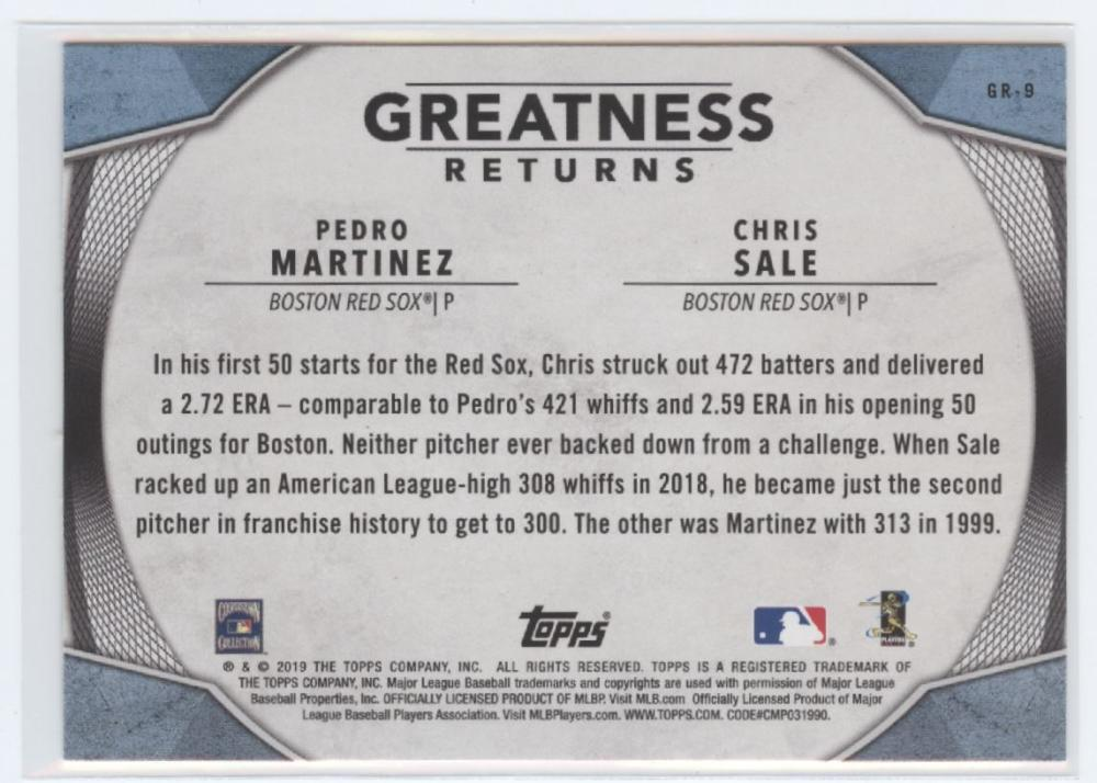 2019-Topps-Greatness-Returns-Insert-Cards-All-Sets-Included-Pick-From-List thumbnail 12