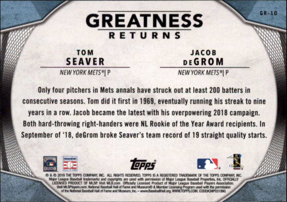 2019-Topps-Greatness-Returns-Insert-Cards-All-Sets-Included-Pick-From-List thumbnail 14