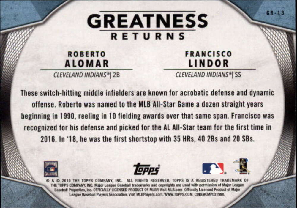 2019-Topps-Greatness-Returns-Insert-Cards-All-Sets-Included-Pick-From-List thumbnail 22