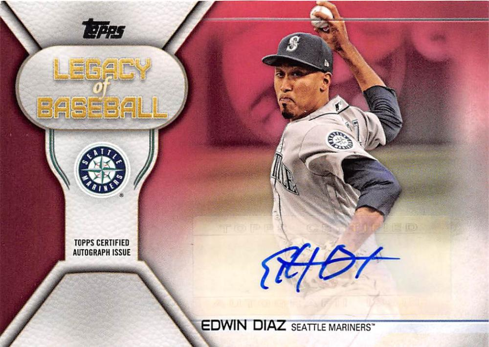 2019 Topps  Legacy of Baseball Autographs Red