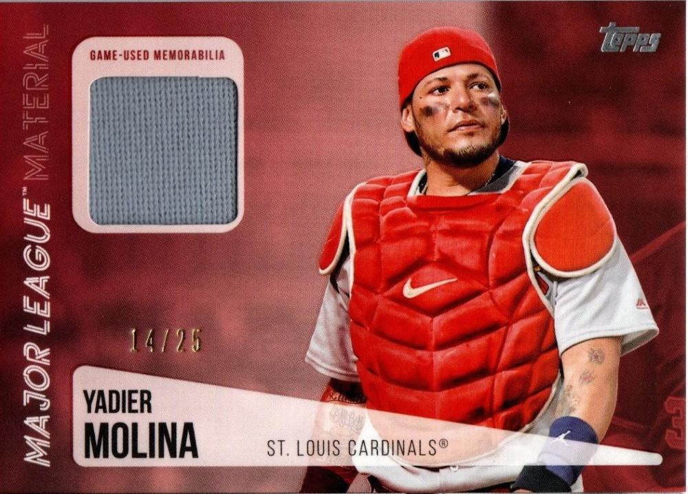 2019 Topps  Major League Material Relics Red