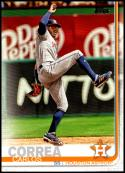 2019 Topps Short Print Variations Baseball #32 Carlos Correa SP Short Print Houston Astros  Official MLB Trading Card By Topps