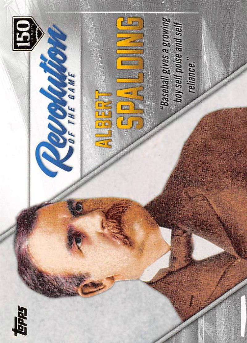 2019 Topps  Revolution of the Game 150th Anniversary