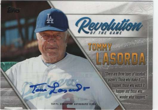 2019 Topps  Revolution of the Game Autographs