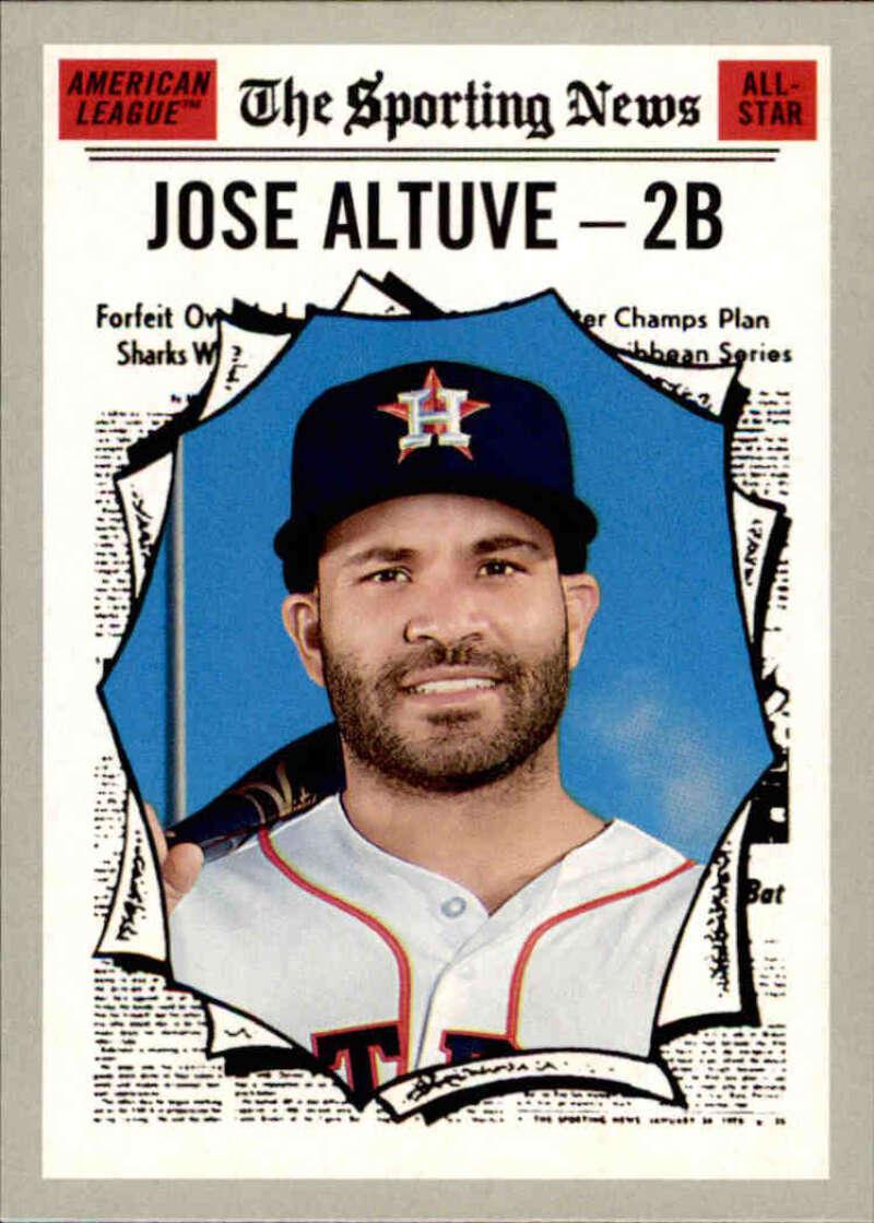 2019 Topps Heritage #353 Jose Altuve NM-MT Houston Astros