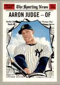 2019 Topps Heritage #356 Aaron Judge NM-MT New York Yankees