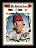 2019 Topps Heritage #357 Mike Trout NM-MT Los Angeles Angels