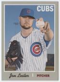2019 Topps Heritage Baseball #405 Jon Lester SP Chicago Cubs Short Print