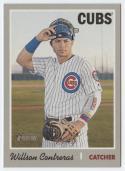 2019 Topps Heritage Baseball #492 Willson Contreras SP Chicago Cubs Short Print