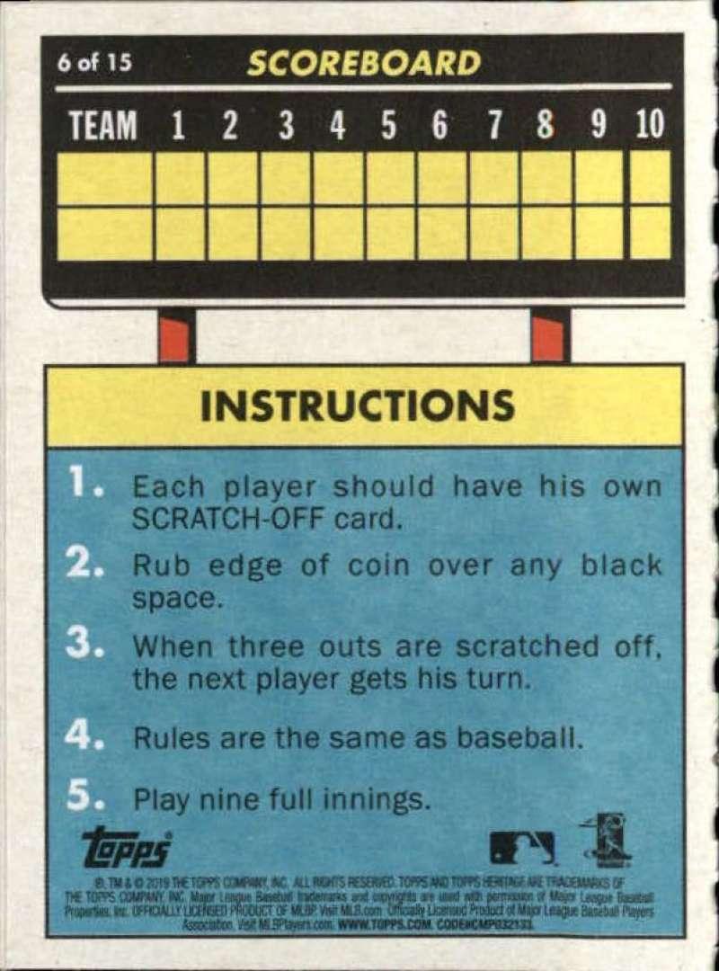 2019-Topps-Heritage-MLB-Baseball-Insert-Singles-Pick-Your-Cards-Make-Lot thumbnail 70