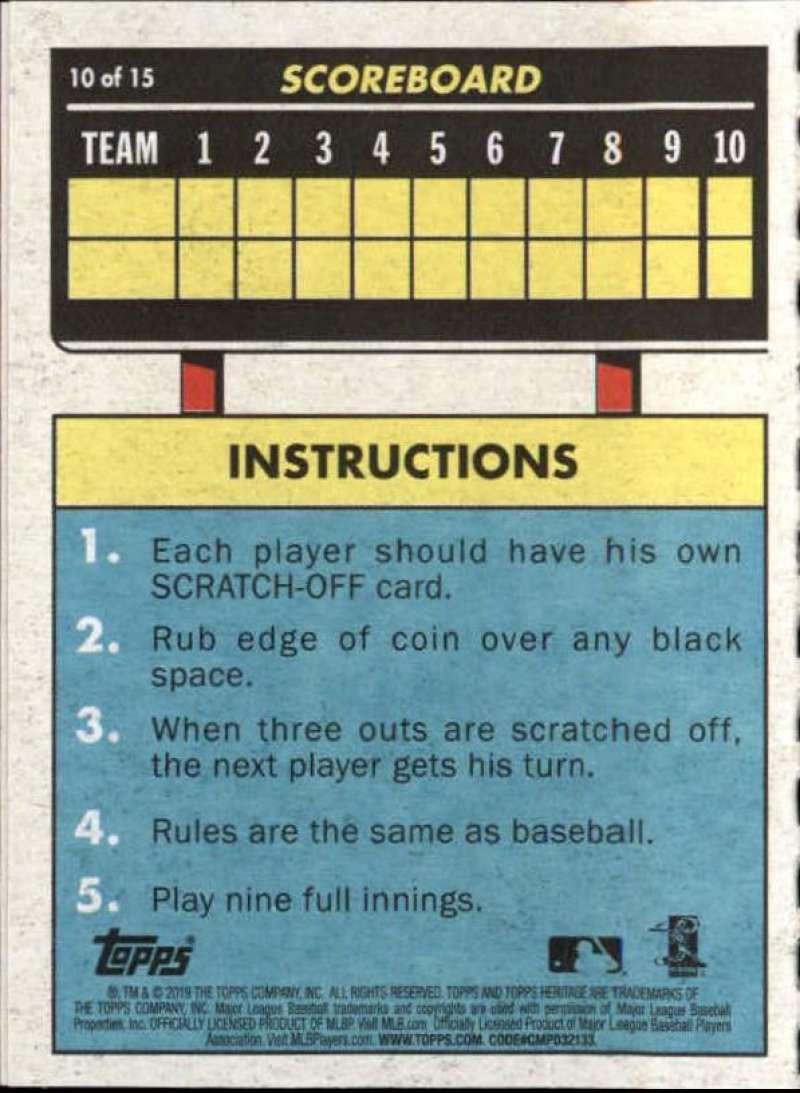 2019-Topps-Heritage-MLB-Baseball-Insert-Singles-Pick-Your-Cards-Make-Lot thumbnail 74