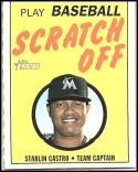 2019 Topps Heritage 1970 Topps Scratch-Off #14 Starlin Castro NM-MT Miami Marlins