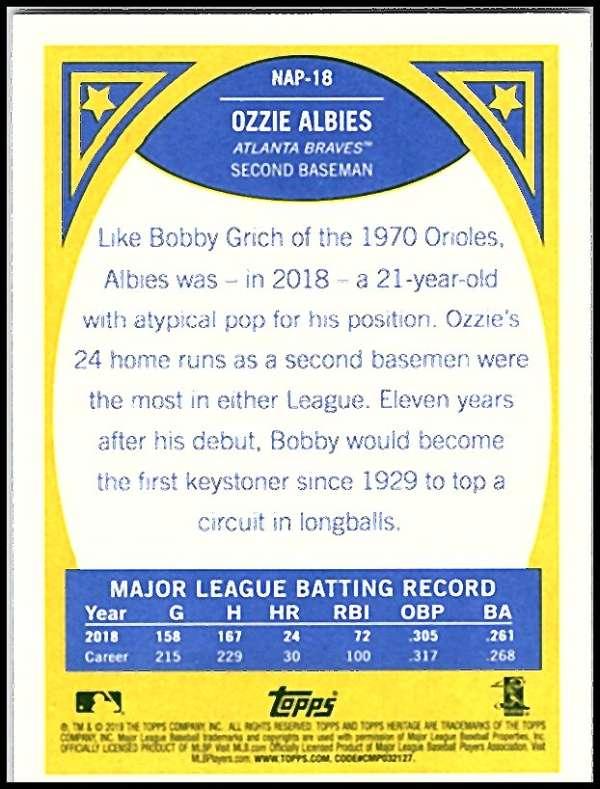 2019-Topps-Heritage-MLB-Baseball-Insert-Singles-Pick-Your-Cards-Make-Lot thumbnail 40