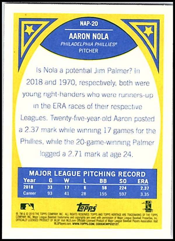 2019-Topps-Heritage-New-Age-Performers-Pick-Your-Cards-Complete-Your-Set-Choose thumbnail 21