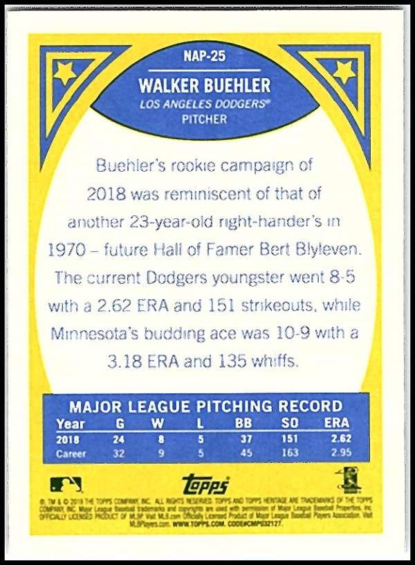 2019-Topps-Heritage-MLB-Baseball-Insert-Singles-Pick-Your-Cards-Make-Lot thumbnail 49