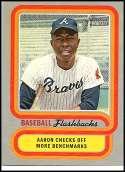 2019 Topps Heritage Baseball Flashback #BF-HA Hank Aaron NM+