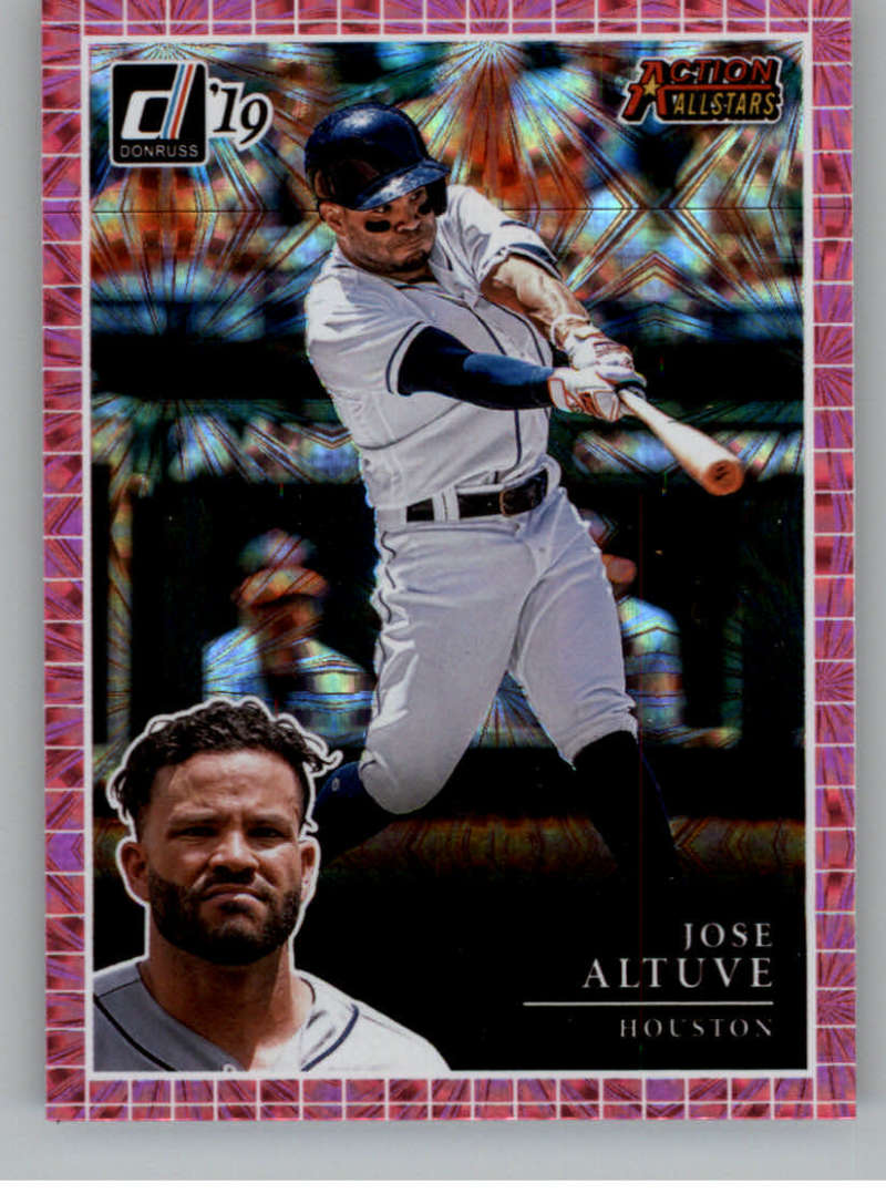 2019 Donruss  Action All-Stars Pink Firework