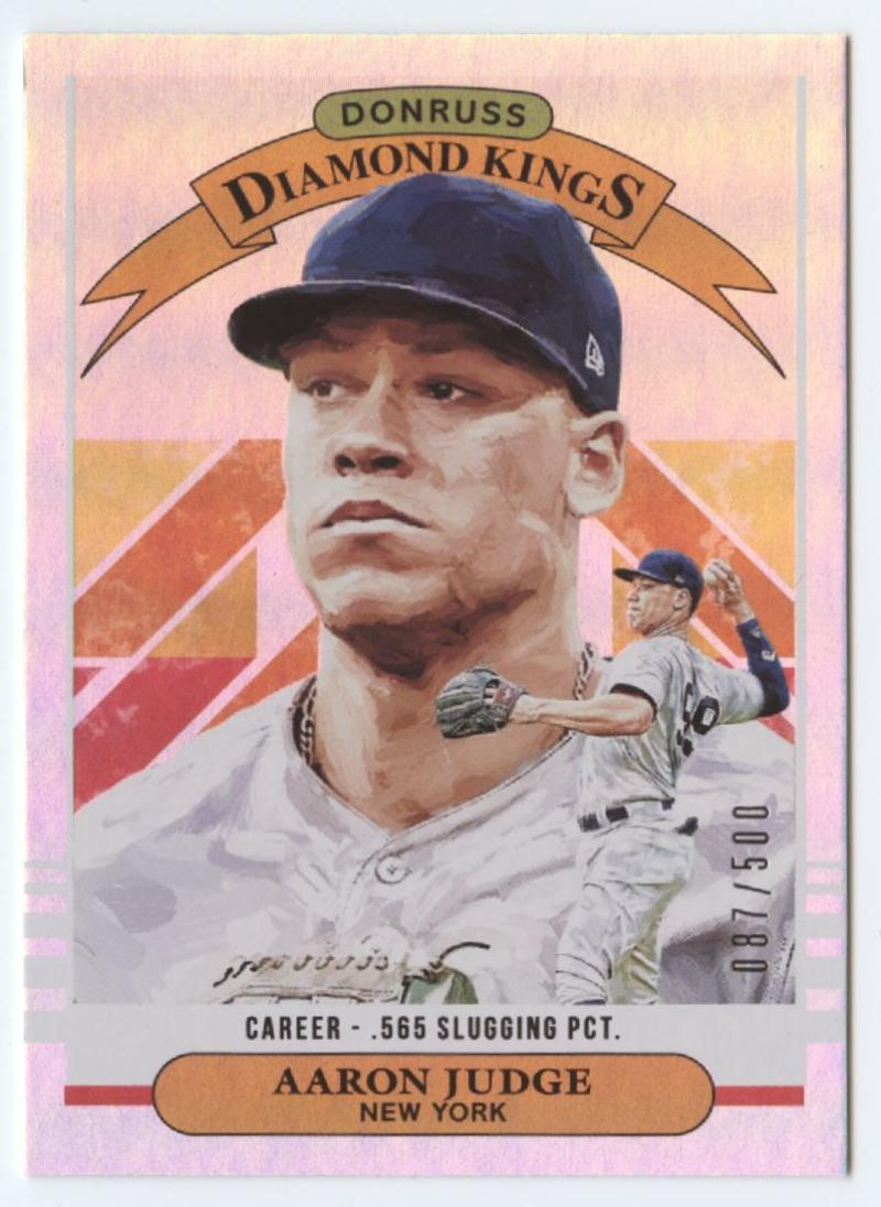 2019 Donruss  Career Stat Line