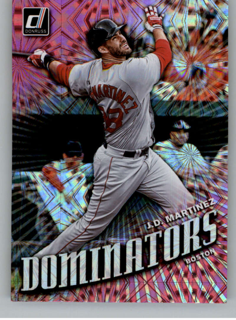 2019 Donruss  Dominators Pink Firework